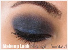 Makeup Look (Smoked Series) | Midnight Smoked | Urban Decay Smoked Palete
