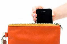 Everpurse charges phone so easily.