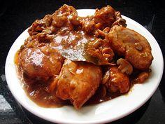 ragout de poulet à l'italienne