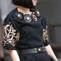 Milan Fashion Week Street Style Spring 2013 - Spring Fashion Week Street Style - Marie Claire