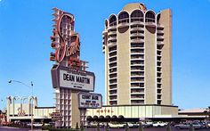 The Sands Hotel and Casino vintage Las Vegas postcard.