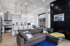 This Renfrew smart home radiates elegance. Stepping inside you'll immediately notice the 12′ foot coffered ceilings and crown moldings. Beyond the downstairs basement suite, this home also includes a laneway house, which is perfect for extra income. Homes like this one are going fast! If you're also wanting to put your house on the market, we can help. Contact our team for a no pressure consultation: info@ruthanddavid.com 604.782.2083 #VancouverRE #Vancouver #realestate Vancouver Real Estate, Coffered Ceilings, Crown Moldings, Step Inside, Smart Home, Real Estate Marketing, Basement, Homes, Couch