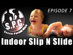SPC Projects: Indoor Slip N Slide - YouTube