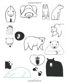 20 Ways to Draw a Cat and 44 Other Awesome Animals: A Sketchbook for Artists, Designers, and Doodlers: Julia Kuo: 9781592538386: Books - Ama...
