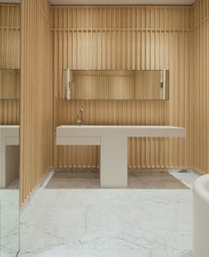 "Bathroom of Carine Roitfeld and Christian ""Sisley"" Restoin"