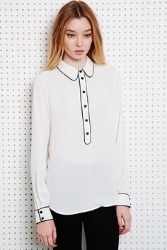 Cooperative Piped Detail Shirt