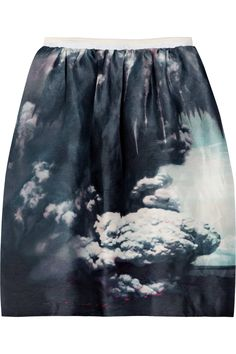 volcano skirt w pockets by Carven