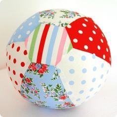 Luftballonhülle Luftballonball 'Emil' blau rot