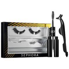 SEPHORA COLLECTION - Dramatic Performance Longwear Lash Kit  in Black #sephora