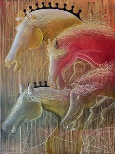 La Cuadriga Oil on Canvas 60cm x 80cm 2014