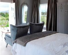 Hawksmoor House offers guest house accommodation in a Cape Dutch country retreat located on a working wine farm called Matjieskuil which Cape Dutch, Mr And Mrs Smith, Grey Room, Weekends Away, South Africa, Luxury, Bed, Places, House
