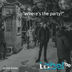 """Where's the party?"" Ntl. Bloggers Club Stalker #‎LabelMeFilm #behind_the_scenes MEER_ZIEN? #‎LMF"
