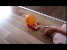 Vyrobte si s deťmi auto na balónový pohon. Pokusy a experimenty pre deti. Plastic Cutting Board, Make It Yourself