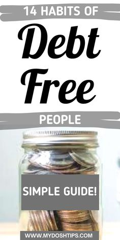 Get out of debt fast. This is a simple guide with 14 habits of people who stay out of debt. Steal the secrets you need to start paying off debt and start living debt free. Find out exactly what you need to do to payoff debt and get out of debt quickly, so you can achieve financial freedom fast. Then use these same tips to stay out of debt. Follow those habits to transform your life. #debt #debtfree #debtfreehabits #habitsofdebtfreepeople #debtfreeliving Finance Websites, Finance Tips, Debt Free Living, Living On A Budget, Debt Repayment, Debt Payoff, Budgeting Finances, Budgeting Tips, Debt Snowball Worksheet