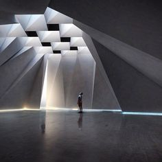 Architecture we like / Light / Seelings / Concrete / Heroic / at Design Binge: