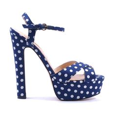 woah woah woah. Totally in love with these Debby Polkadot Platforms by Siren!