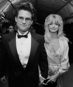 Kurt Russell and Goldie Hawn.
