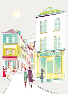 Paris-Montmartre-illustration-by-Laura-Amiss