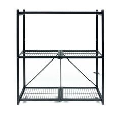 Origami R4-01 General Purpose 3-Shelf Steel Collapsable Storage Rack, Medium by Origami. $55.00. From the Manufacturer                Origami R4-01 is a general purpose shelf which opens and folds in seconds without any tools required. This sturdy powder coated steel rack will support 250 lb per shelf without wheels and 75lb per rack with wheels. It folds flat for easy storage and works great for storage of any kind: garage, office, warehouse.                 ...