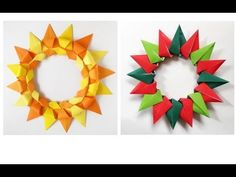 Origami Instructions: Make a Gorgeous Modular Origami Wreath or Ring