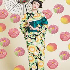 ふりふ - 浴衣 万寿菊