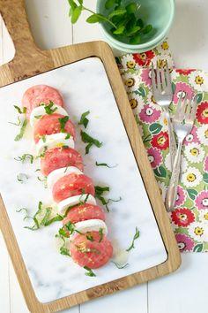 Watermelon Caprese Recipe