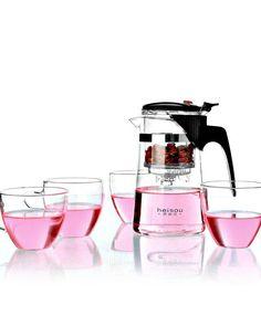 Tea cup glass teapot kit!