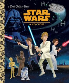 As the world prepares for the release ofStar Wars Anthology: Rogue One,the now-legendary tales ofStar Warsare being released ina brand new, kid-friendly format: For the first time, Star Warsretellings will be available as Little Golden Books from Random House, EWreports exclusively.
