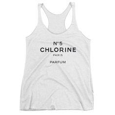 CHLORINE NO 5 ladies tank