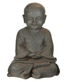 Buddist Monk Garden Statue | Baby Monk Outdoor Statues