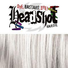 Grey Skull Headshot Hair Dye