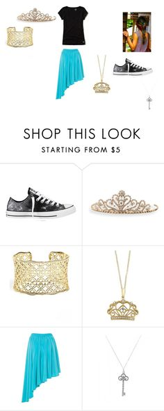 """""""Lily Hogwarts Express #1"""" by bookprincess-313 on Polyvore featuring Converse, BillyTheTree, Kendra Scott, Effy Jewelry, A