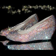 Image result for iridescent bridal shoes