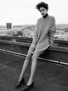 Suvi Koponen, Issa Lish, Damaris Goddrie, Heather Kemesky by Karim Sadli for Vogue UK October 2015