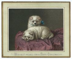 'With Best Wishes for a Happy Christmas'