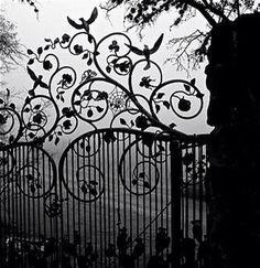 Кованые ворота - Beautiful!!!!