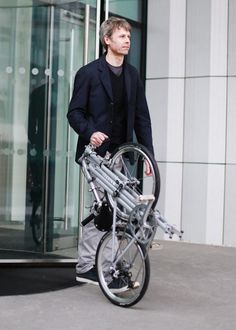 Whippet Bicycle: A British Folding Bike Designed for Urban Living - Design Milk