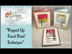 Popped Up Focal Point Technique with Sheltering Tree and More! - YouTube
