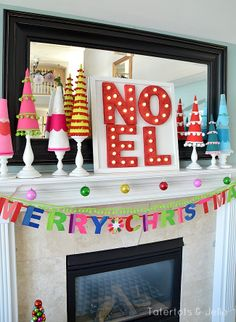 "How To: Make Styrofoam Marquee ""NOEL"" Letters NOEL styrofoam marquee letters tuorial Christmas Mantels, Noel Christmas, Modern Christmas, Christmas Crafts, Christmas Ideas, Styrofoam Crafts, Letter A Crafts, Layout, Marquee Letters"