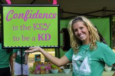 Confidence is the key to be a KD