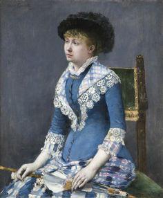 Norbert Goeneutte- Femme a l`ombrelle, 1880