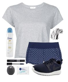 """""""~Practice makes Perfect~"""" by cute-and-stylish ❤ liked on Polyvore featuring RE/DONE, New Balance, NIKE, Christian Dior, Bobbi Brown Cosmetics, Nivea, Eos and Dove"""