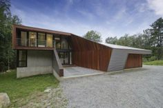 berkshire pond #house - Metal Sheet-Wrapped Housing