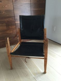KAARE-KLINT-SAFARI-CHAIR-1950S-BLACK-LEATHER