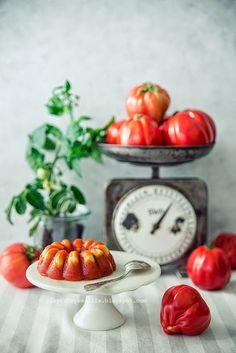 pieprz czy wanilia blog kulinarny: Pomidorowo. W sierpniowej Kuchni.