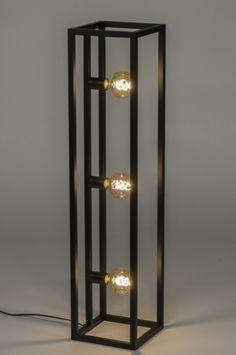 Iron Furniture, Steel Furniture, Ceiling Light Design, Lighting Design, Industrial Style Lamps, Cool Lamps, Wooden Lamp, Home Room Design, Lamp Design
