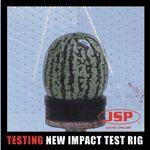 Impact test rig melon