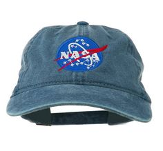 NASA Hat nasa Unisex Baseball Cap Tumblr Hat Need My Space Insignia Embroidered Pigment Dyed Cap (FREE 2-DAY SHIPPING_