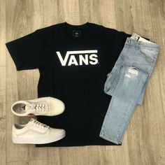 Roupa que o josh usa durante o capítulo *início* outfits en 2019 одежда, му Vans Outfit Men, Swag Outfits Men, Stylish Mens Outfits, Cute Casual Outfits, Teen Fashion Outfits, Dope Outfits, Outfits Hipster, Teen Boy Fashion, Fashion Men