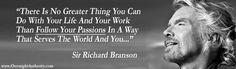 Business wisdom from Sir Richard Branson